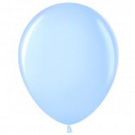 Шар (12''/30 см) Светло-голубой (454), пастель, 100 шт.